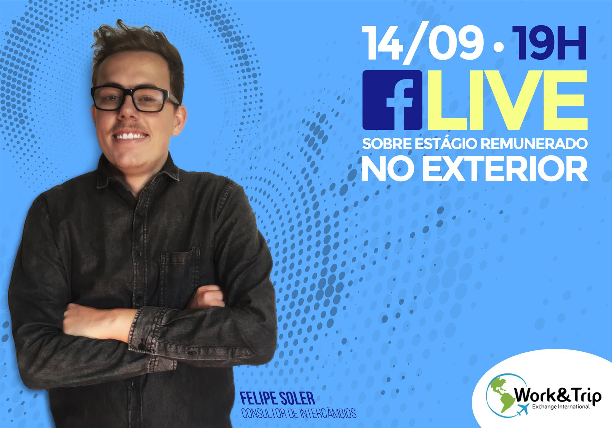LIVE AO VIVO NO FACEBOOK DIA 14/09